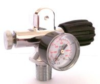 Mono valve 300 bar with manometer for Airgun