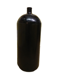 12L/ 230 bar cylinder_204 mm black